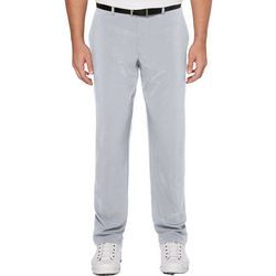 PGA TOUR Mens Herringbone Flat Front Golf Pants
