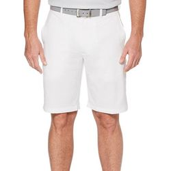PGA TOUR Mens Hybrid Texture Grid Shorts