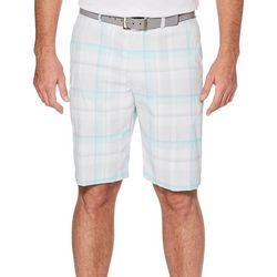 PGA TOUR Mens Madras Plaid Shorts