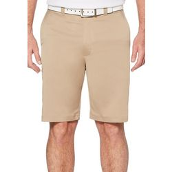 PGA TOUR Mens Flat Front Cargo Golf Shorts