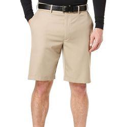 PGA TOUR Mens Flat Front Extender Shorts