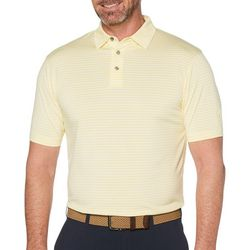 PGA TOUR Mens Feeder Stripe Polo Shirt