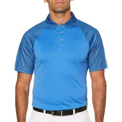 PGA TOUR Mens Performance Raglan Polo Shirt
