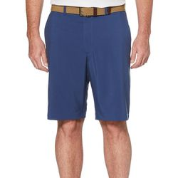 PGA TOUR Mens Two Tone Active Waistband Golf Shorts