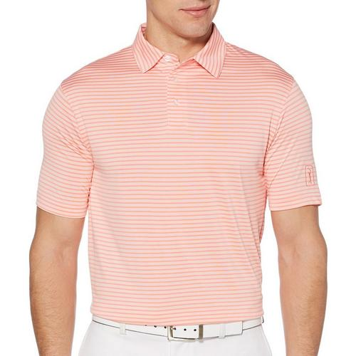 36160dc6e2 PGA TOUR Mens Big & Tall Airflux Feeder Stripe Polo Shirt | Bealls Florida