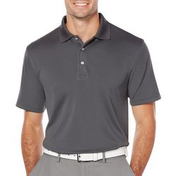 PGA TOUR Mens Big & Tall Airflux Solid Polo Shirt