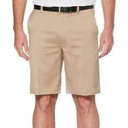 PGA TOUR Mens Big & Tall Tech Solid Golf Shorts