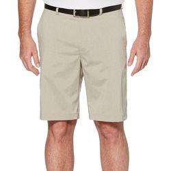 PGA TOUR Mens Big & Tall Heathered Tech Shorts