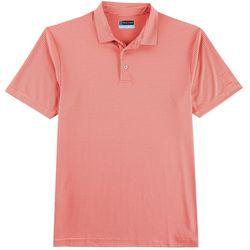 PGA TOUR Mens Feeder Stripe Golf Polo Shirt
