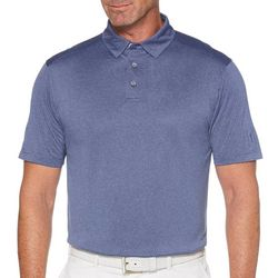 PGA TOUR Mens Fine Line Short Sleeve Polo Shirt