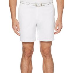 PGA TOUR Mens Active Waistband Flat Front Golf Shorts