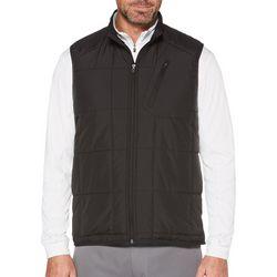PGA TOUR Mens Themaflux Zip Front Puffer Vest