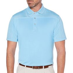 PGA TOUR Mens Subtle Colorblock Polo Shirt