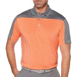 PGA TOUR Mens Essential Colorblocked Polo Shirt