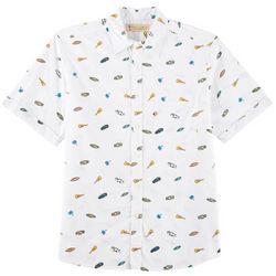 Boca Classics Islandwear Mens Tropical Print Shirt