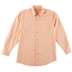 Boca Classics Islandwear Mens Long Sleeve Button Up Shirt
