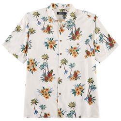Boca Classics Mens Tropical Short Sleeve Shirt