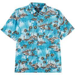 Boca Classics Mens Lighthouse Island Short Sleeve Shirt