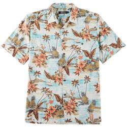 Boca Classics Mens Tropical Drink Button Down Shirt