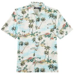Boca Classics Mens Scenic Short Sleeve Shirt
