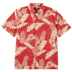Boca Classics Mens Pineapple Print Shirt