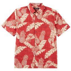 Boca Classics Mens Bamboo Print Shirt