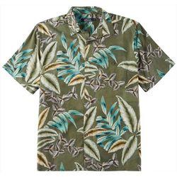Boca Classics Mens Leaf Print  Simply Perfect Shirt
