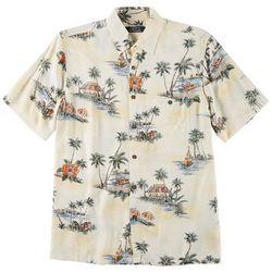 Boca Classics Mens Palm Tree Surf Simply Perfect Shirt