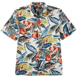 Boca Classics Mens Ray Martini Leaf Button Down