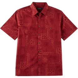 Boca Classics Mens Tribal Button Down Shirt