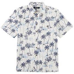 Boca Classics Mens Palm Print Simply Perfect Shirt
