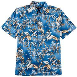 Boca Classics Mens Bamboo Shoot Button Down Shirt