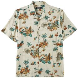 Boca Classics Mens Ray Island Drink Button Down Shirt