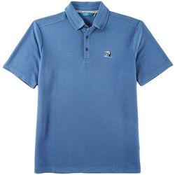 Boca Islandwear Mens Happy Hour Toucan Polo Shirt