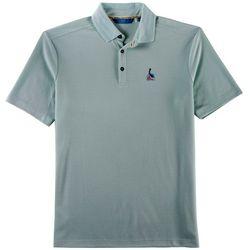 Boca Islandwear Mens Happy Hour Pelican Polo Shirt