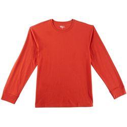 Boca Classics Mens Pima Solid Long Sleeve T-Shirt