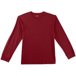 Boca Classics Mens Pima Solid Long Sleeve T-Shirt