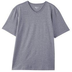 Boca Classics Mens Performance Heathered V-Neck T-Shirt