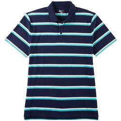 Boca Classics Mens Striped Polo Shirt