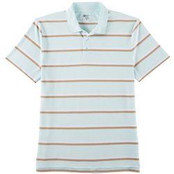 Boca Classics Mens Multi Striped Polo Shirt