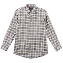 Boca Classics Mens Tartan Plaid Flannel Shirt