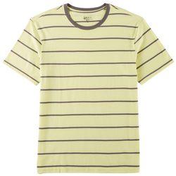Boca Classics Mens Stripe Print T-Shirt