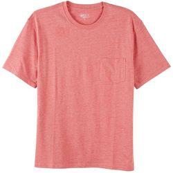 Boca Classics Mens Heather Performance Comfort T-Shirt