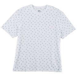 Boca Classics Mens Mushroom Print T-Shirt