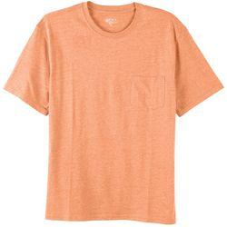 Boca Classics Mens Performance Comfort Pocket T-Shirt