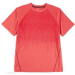 RB3 Active Mens Ombre Raglan Performance T-Shirt