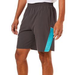 RB3 Active Mens Side Stripe Woven Athletic Shorts
