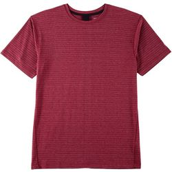 RB3 Active Mens Textured Knit Performance T-Shirt