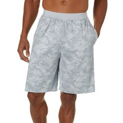 RB3 Active Mens Performance Knit Camo Shorts