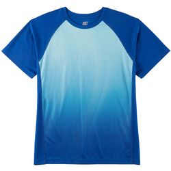 RB3 Active Mens Performance Dot Wave Print T-Shirt
